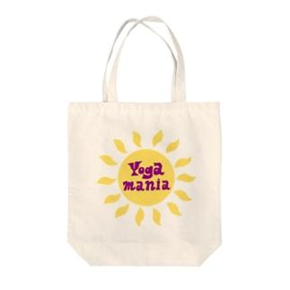 ヨガマニア Tote bags