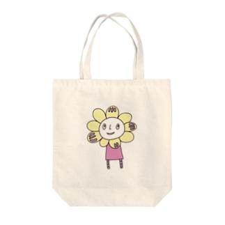 デニーのさんぽA Tote bags