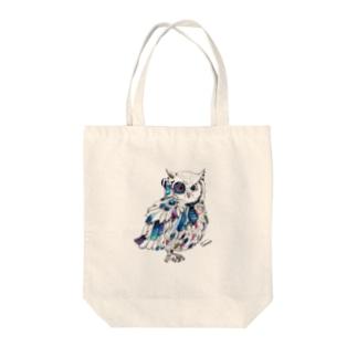 Blue OWL トートバッグ