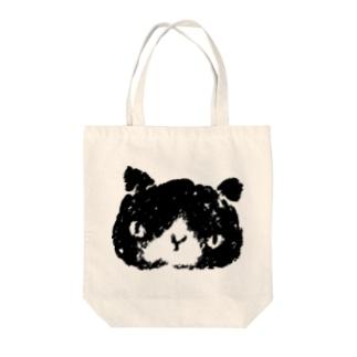 シロクロぬこ Tote bags