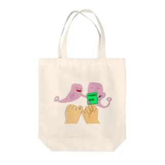 インガ Tote bags