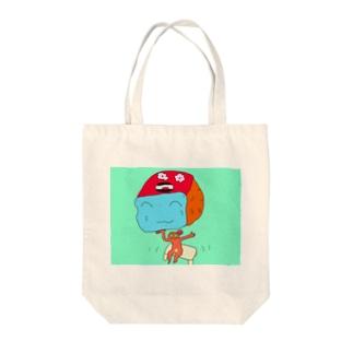 コロリン Tote bags
