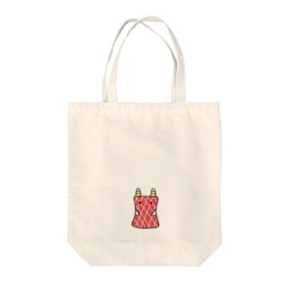 こーべぽーとくん Tote bags