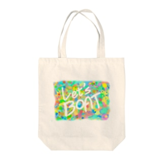 Let's BOAT Tote bags