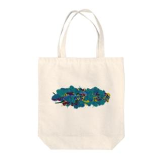 水草002 Tote bags