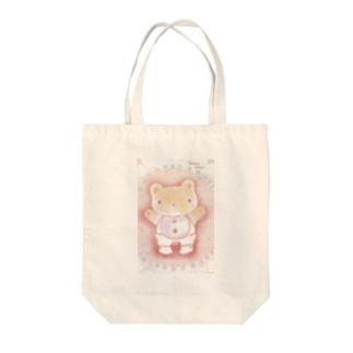 クマくま Tote bags