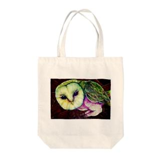 silent eye Tote bags