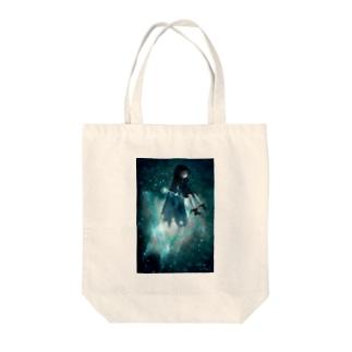 星の魔法 Tote bags