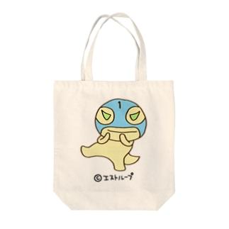 かいじゅうマスク1号 そだよトート Tote bags