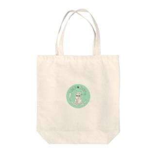 369-cat ロゴマーク Tote bags