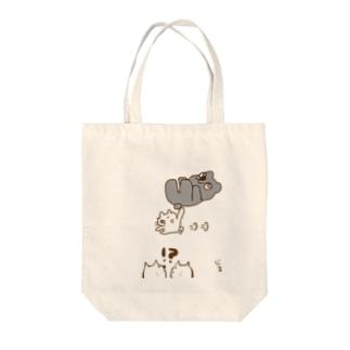 のらちびが何かを運んでる Tote bags