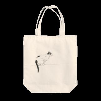 10-grove(Kidati)の【jump cat】 Tote bags