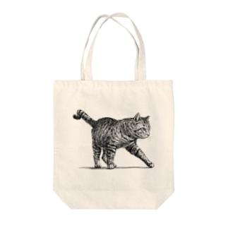 【野良猫の行進】 Tote bags