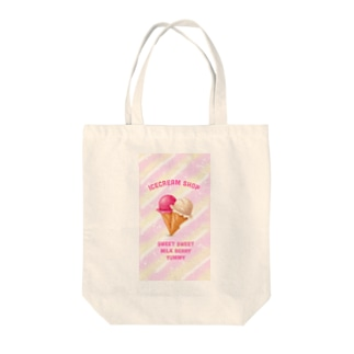 ICECREAM SHOP TOTEBAG Tote bags
