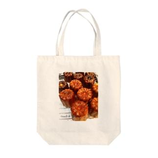 カヌレ大好き♡ Tote bags