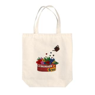 アメカジカンカン Tote bags