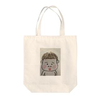 ポンちゃん Tote bags