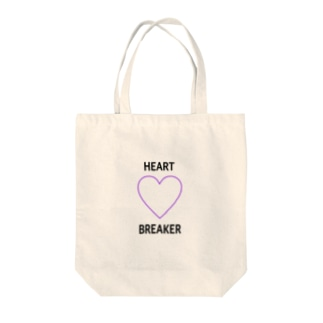 HEART💜BREAKER Tote bags
