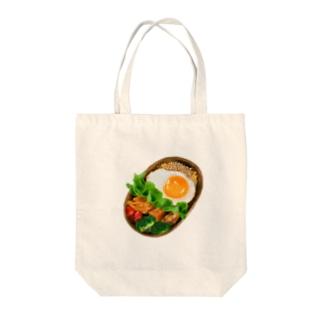 リアルなお弁当 Tote bags