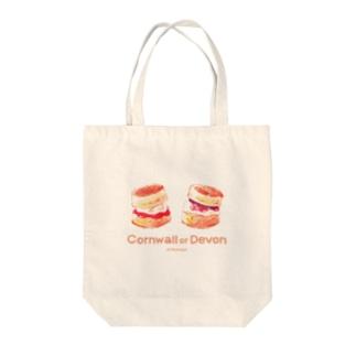 Cornwall or Devon Tote bags