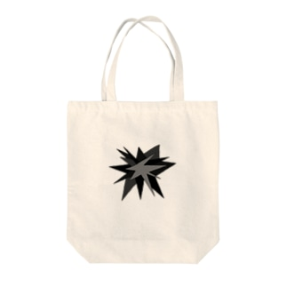 モノトーン(破裂・大) Tote bags