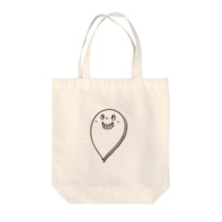 MAKOTOオバケ Tote bags