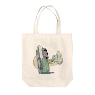 胃ースター島のモア胃透視 Tote bags