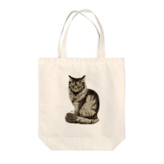 うちの野良猫 Tote bags