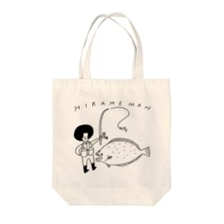 HIRAMEMAN Tote bags