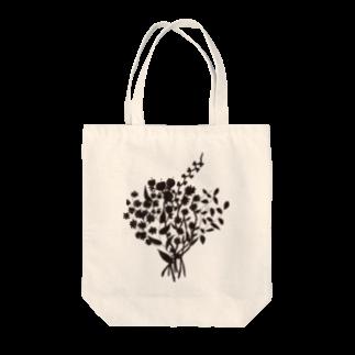 shirokumasaanの花 トートバッグ