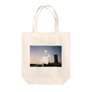 夕日少女 Tote bags