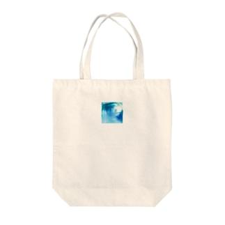 みずいろ Tote bags