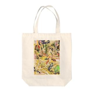 ①② Tote bags