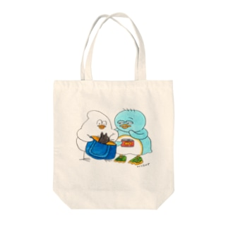 猫入り Tote bags