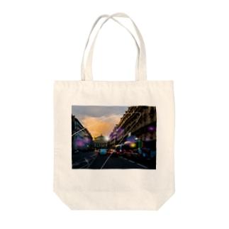 オペラ座 Tote bags