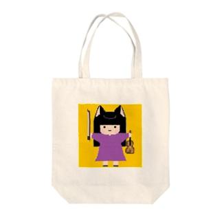 ドット絵ケイコちゃん Tote bags