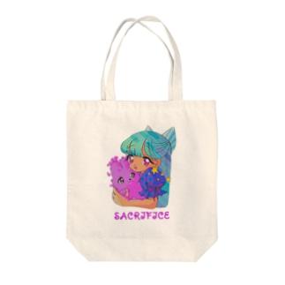 IKENIE★ Tote bags
