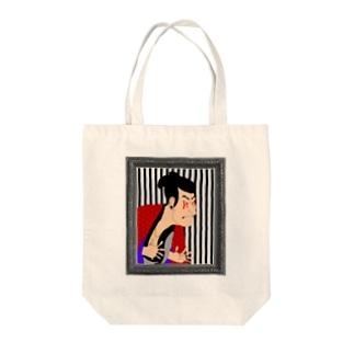 東洲斎 写楽 Tote bags