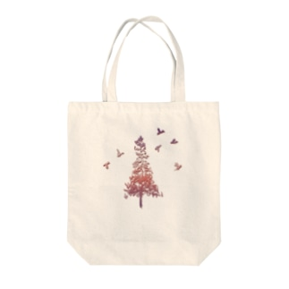 アウトドアデザイン「FOREST」 Tote bags