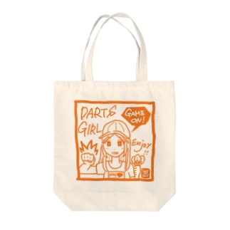 GAME ON! 【SPICY ORANGE】 Tote bags