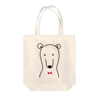 普通なクマさん Tote bags