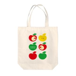 りんごちゃん(No.2) Tote bags