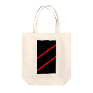 赤線 Tote Bag