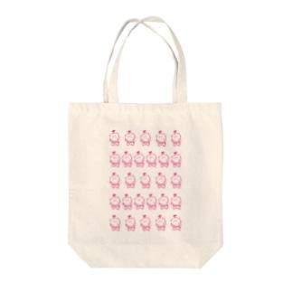 仁義 Tote bags