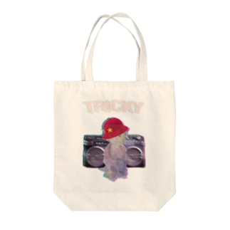 office SANGOLOWのtricky boy Tote bags