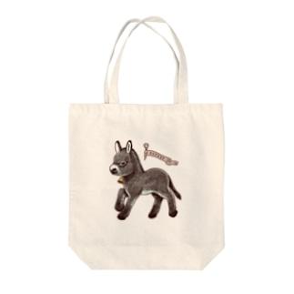 DONKEY ロバ Tote bags