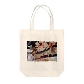 お寺 Tote bags