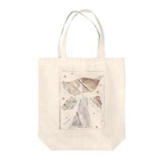 SPICA_catangel Tote bags