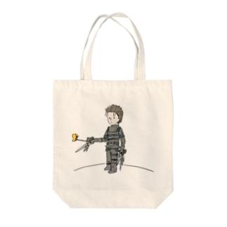 手がハサミの王子さま(星の王子さま) Tote bags