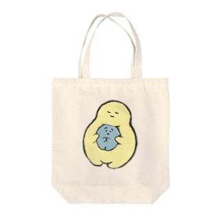 不安くんと安心ちゃん Tote bags